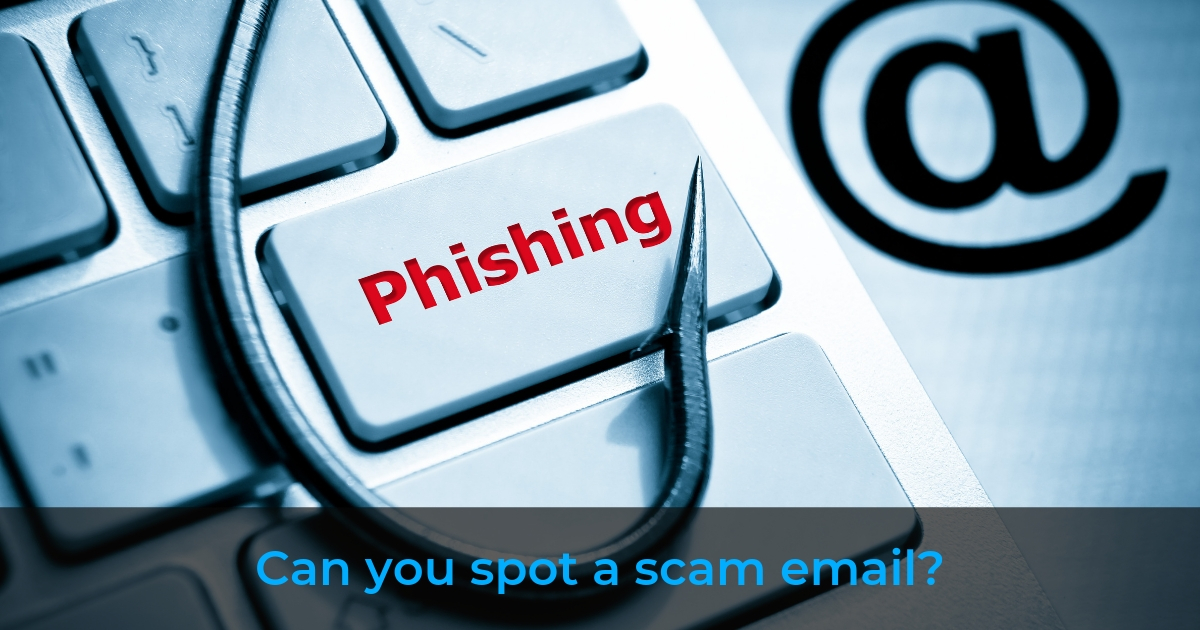 Can you spot a scam email?