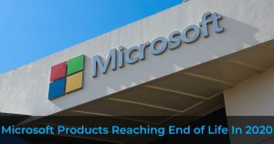 2020 Microsoft End of Support
